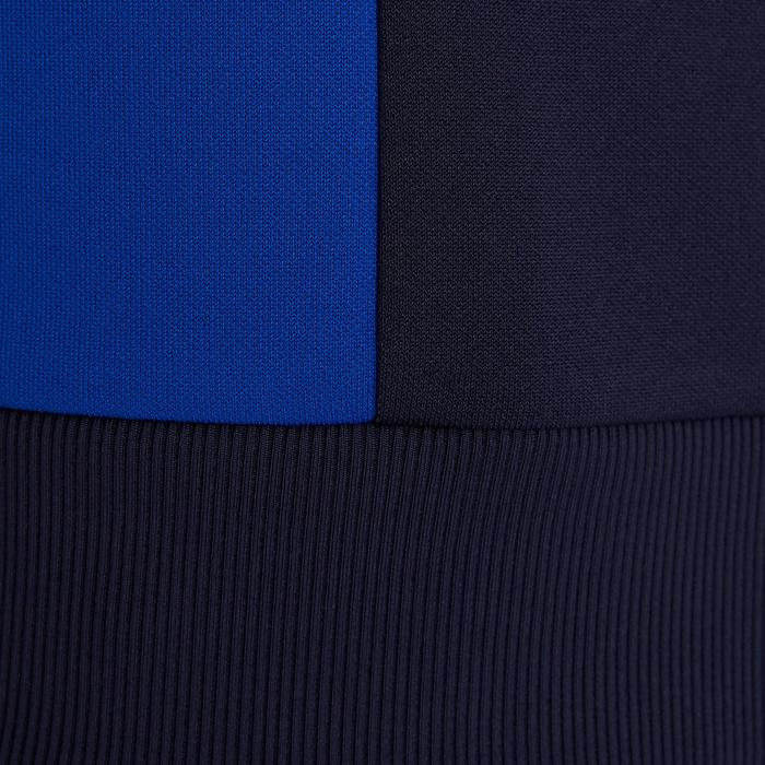 Licht trainingsvest voor voetbal volwassenen T100 blauw