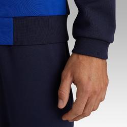 Fußball-Trainingsjacke T100 Erwachsene blau