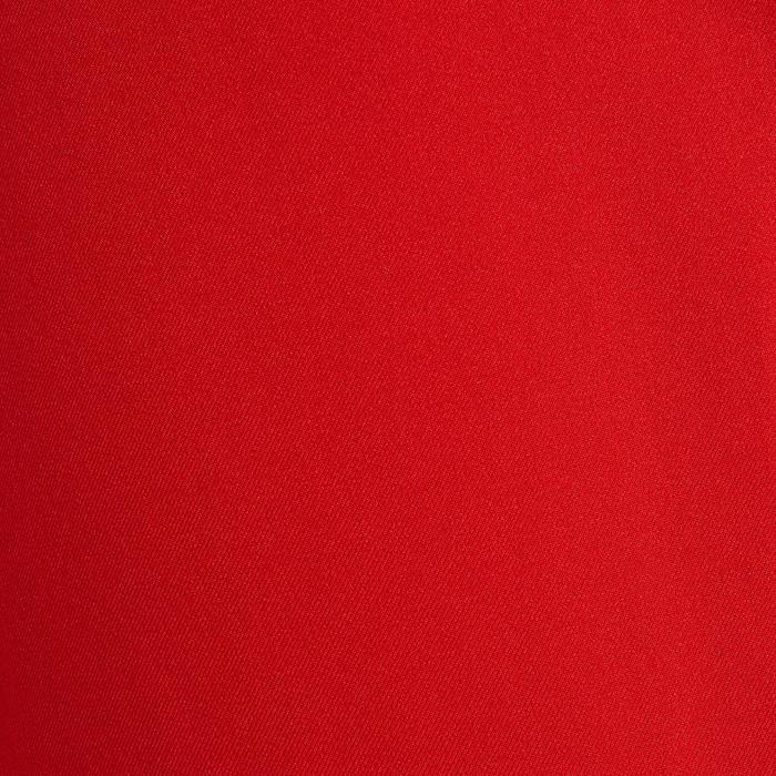Fußballshorts F500 Erwachsene rot
