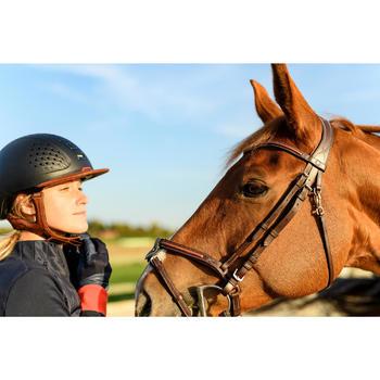 Bridon équitation 580 SURPIQUE marron - taille poney