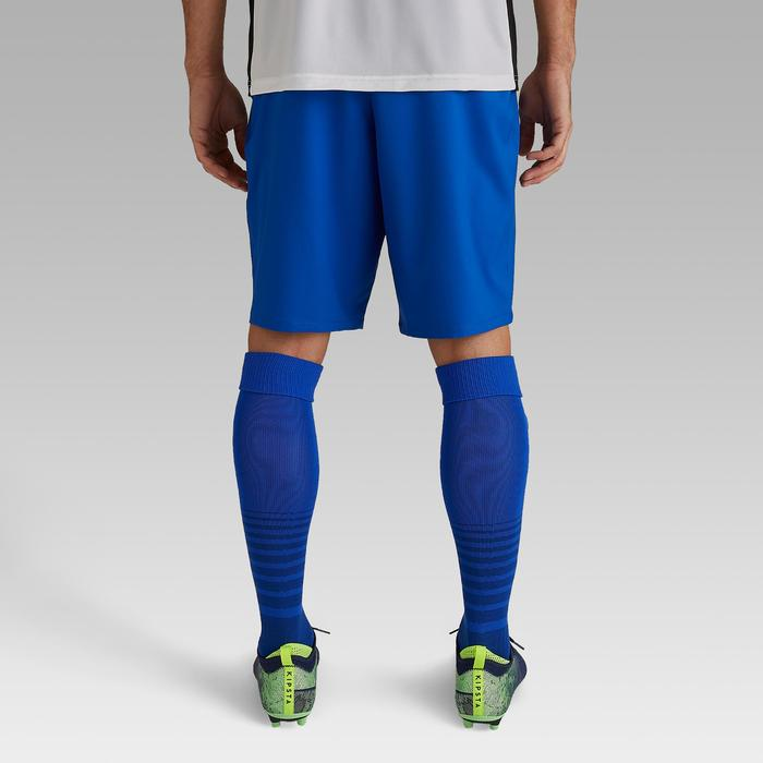 Short de football adulte F500 bleu