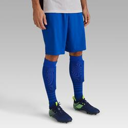 成人款足球短褲 F500-藍色
