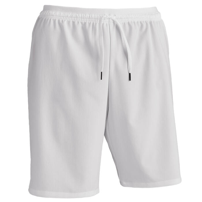 Short de football adulte F500 blanc