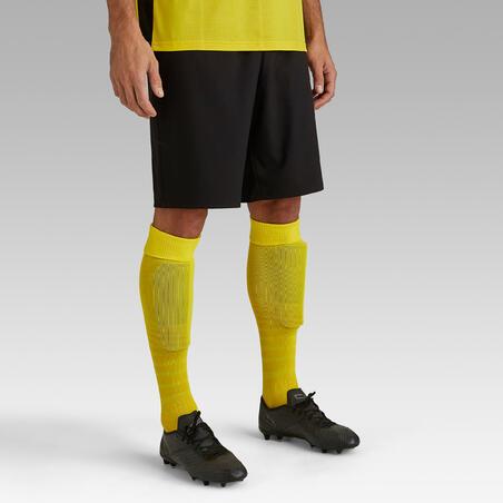 Short de soccer adulte F500 noir