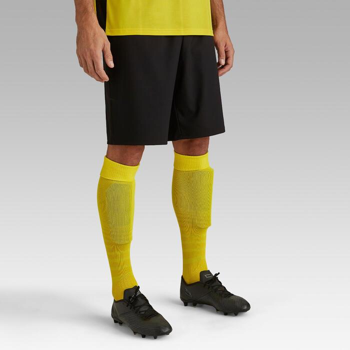 成人款足球短褲F500-黑色