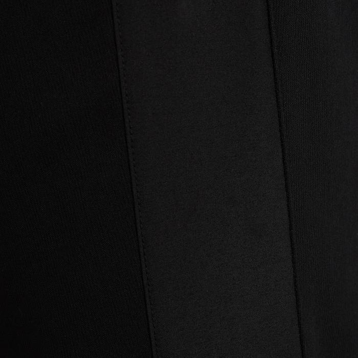 Short long adulte T500 noir carbone