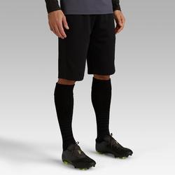 Short Largo Fútbol Kipsta FSTL500 Adulto Negro