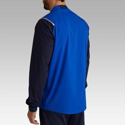 Cortaviento Impermeable Fútbol Kipsta FJK500 Adulto Azul