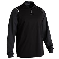 T500 Adult Football Waterproof Windbreaker - Carbon Black
