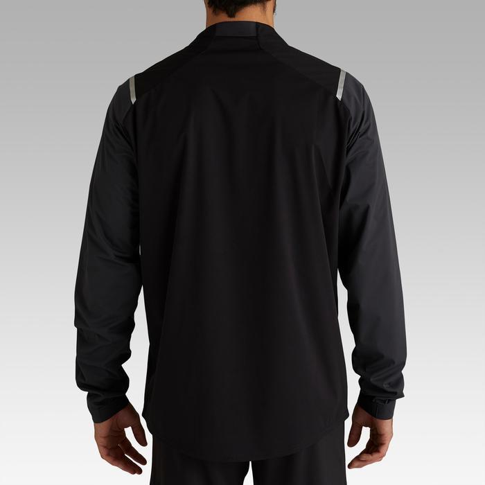 Regenjacke Training T500 Erwachsene schwarz