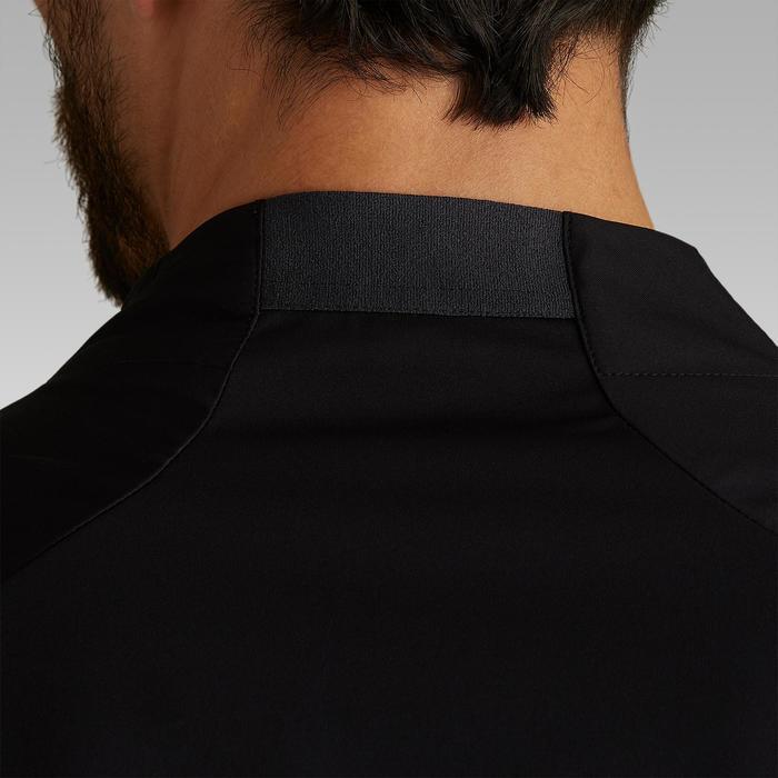 Regenjacke Trainingsjacke T500 Erwachsene schwarz