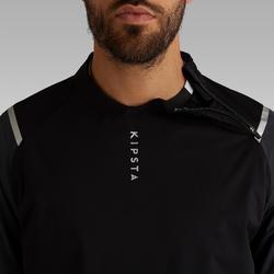 Cortaviento Impermeable Fútbol Kipsta FJK500 Adulto Negro