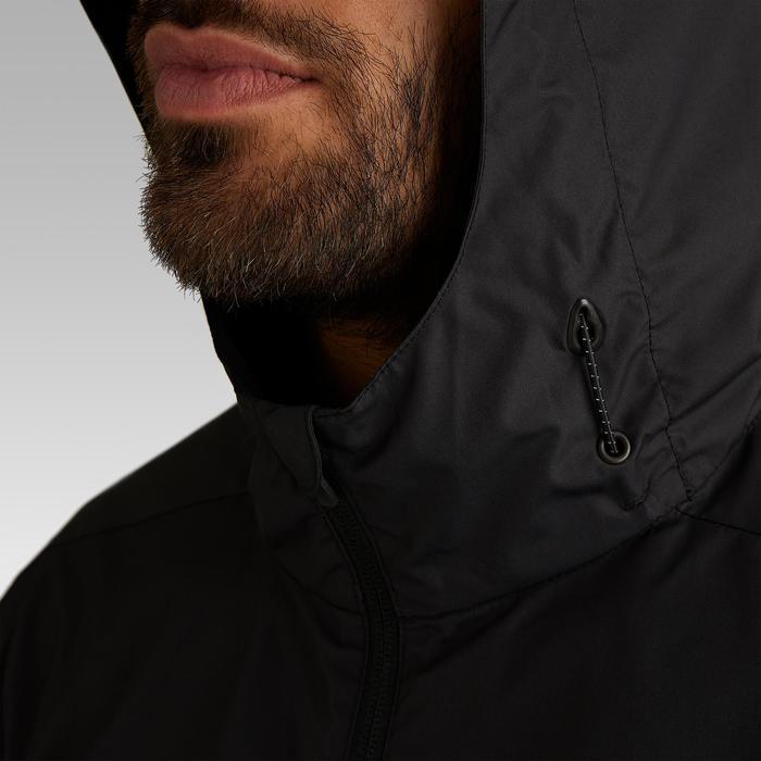Regenjacke T100 Erwachsene schwarz