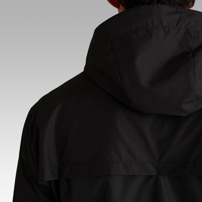 Regenjacke Fussball T100 Erwachsene schwarz