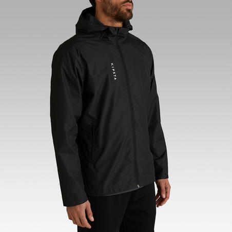 Manteau de soccer imperméable T100  - Adulte