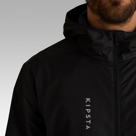 Manteau de soccer imperméable T100  - Adulte