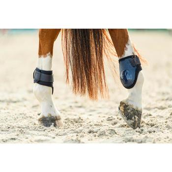Protectores Equitación Fouganza 500 Jump Caballo Azul Marino Menudillo