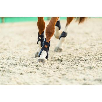 Open peesbeschermers 500 Jump paard marineblauw