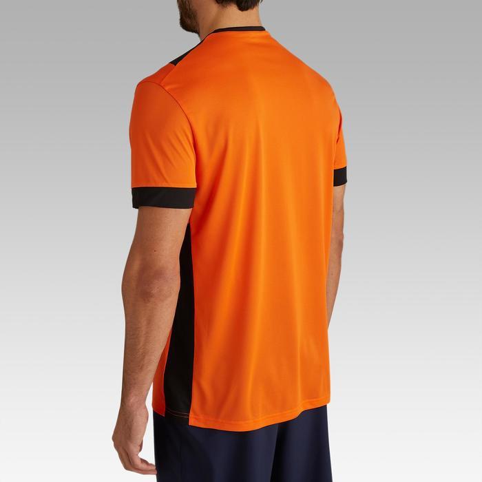 Camiseta de Fútbol adulto Kipsta F500 naranja