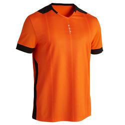 Camiseta de Fútbol Kipsta F500 adulto Naranja