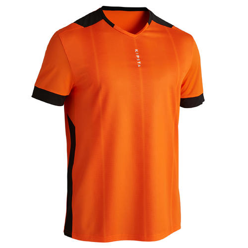 MAILLOT DE FOOT ADULTE F500 ORANGE