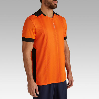 Maillot de football adulte F500 orange