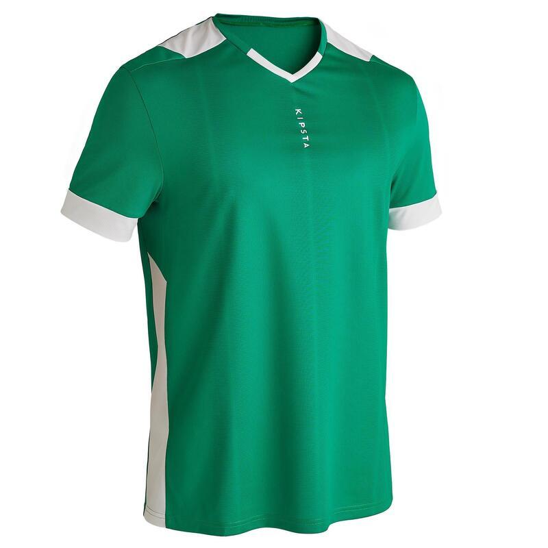 Camisola de Futebol Adulto F500 Verde