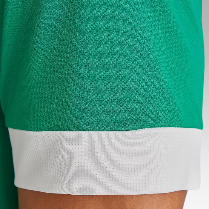 Maillot de football adulte F500 vert