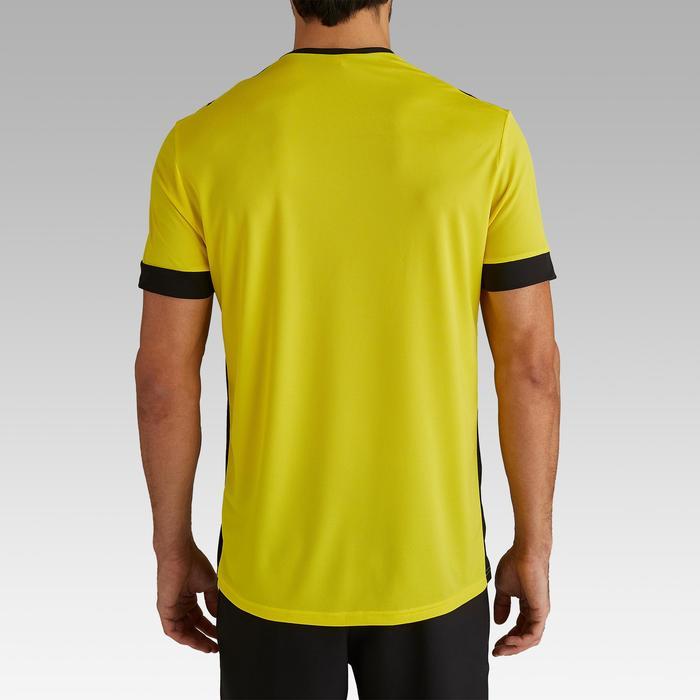 Camiseta de Fútbol adulto Kipsta F500 amarillo