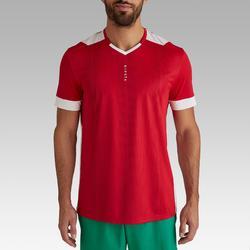 Voetbalshirt voor volwassenen F500 rood