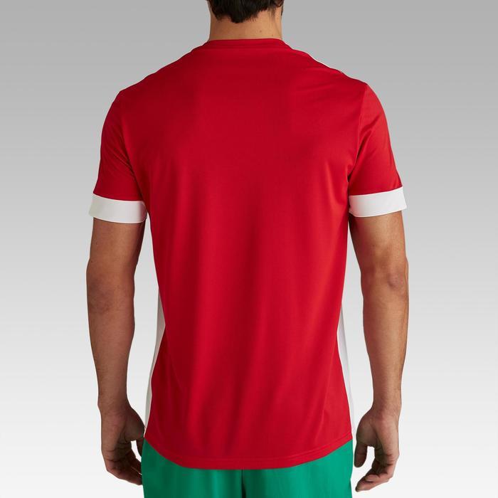 Fußballtrikot F500 Erwachsene rot