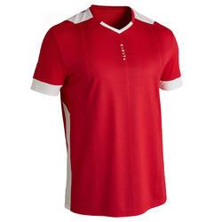 Camiseta de Fútbol Kipsta F500 adulto rojo