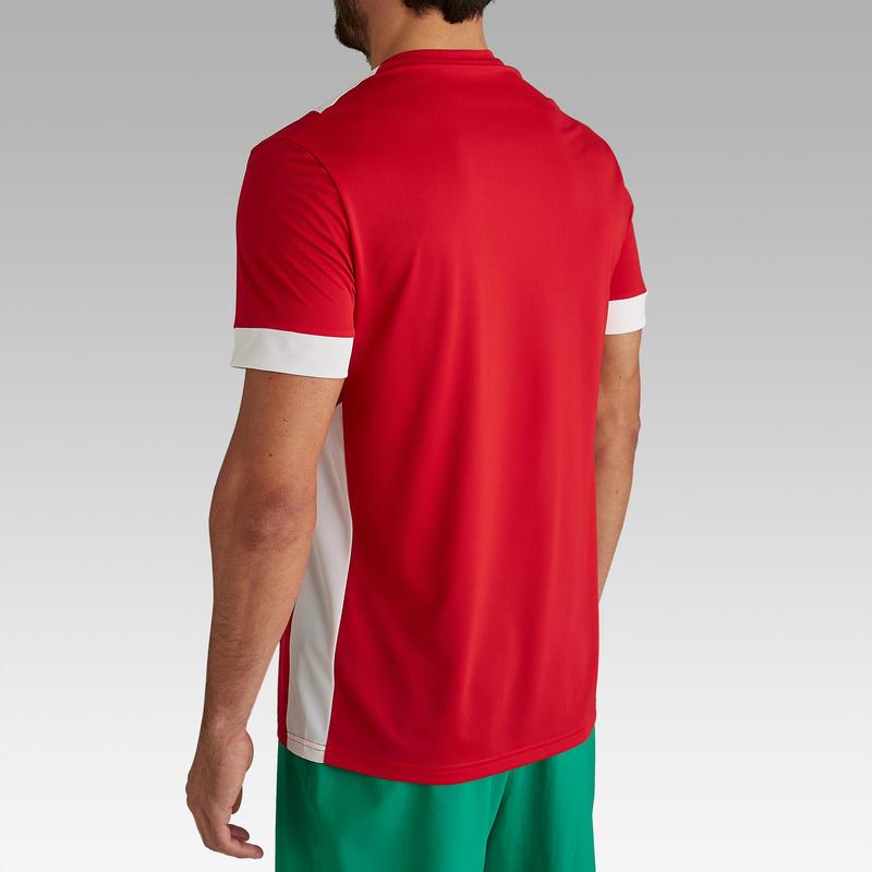 Áo jersey đá bóng F500 cho người lớn - Đỏ