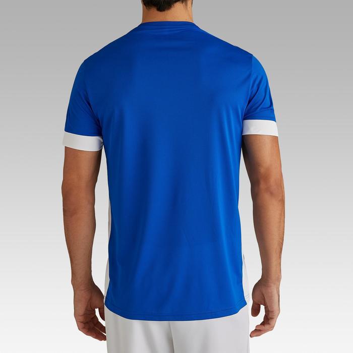 Camiseta de Fútbol adulto Kipsta F500 azul