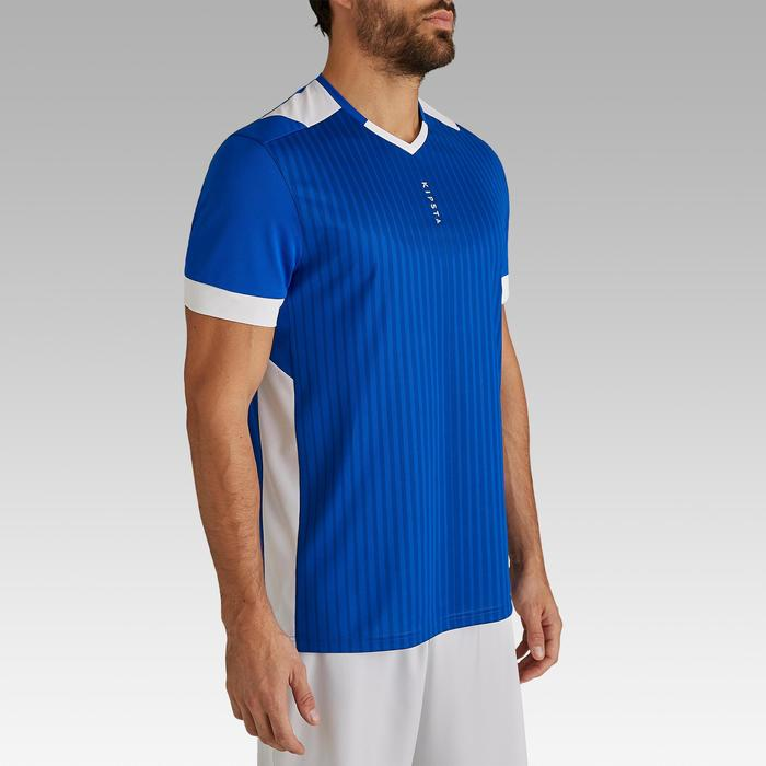 Maillot de football adulte F500 bleu