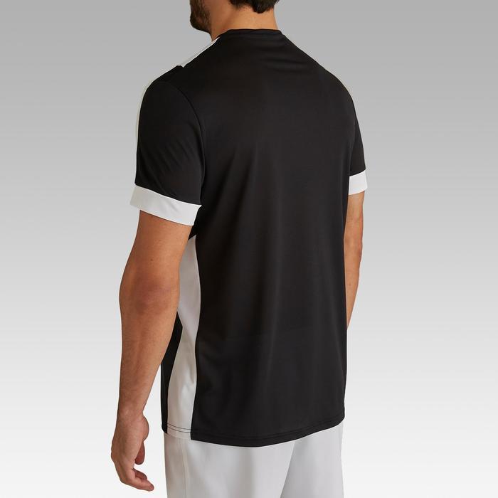Voetbalshirt voor volwassenen F500 zwart