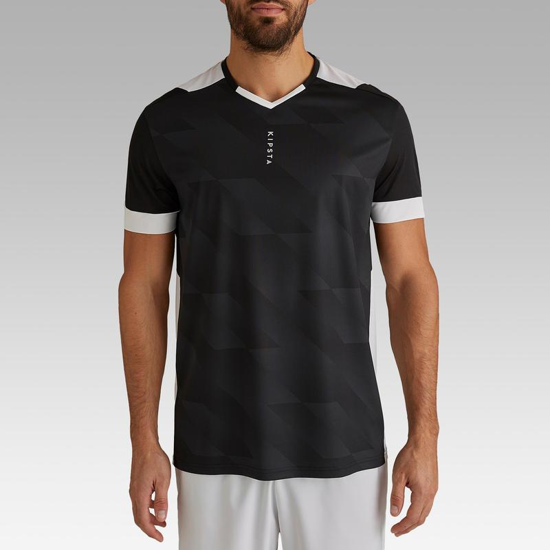 Camiseta de fútbol adulto F500 negra