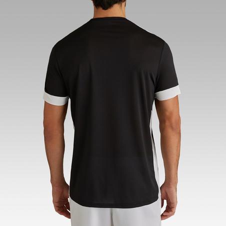 Playera de fútbol adulto F500 negro
