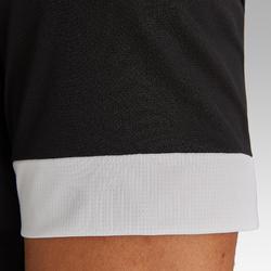 成人款足球上衣F500-黑色