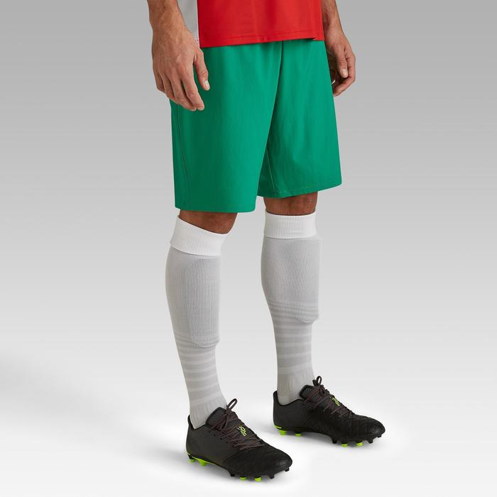 Short de football adulte F500 vert