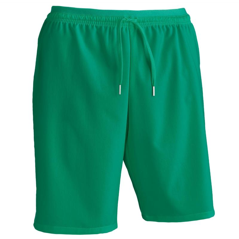 Short de football adulte F500 vert