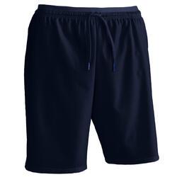 Pantalón corto de Fútbol adulto Kipsta F500 azul marino