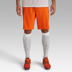 Short de football adulte F500 orange