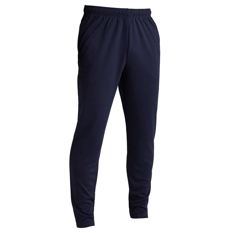 ABBIGLIAMENTO CALCIO ADULTO PESANTE Sport di squadra - Pantaloni calcio T100 blu KIPSTA - Abbigliamento calcio