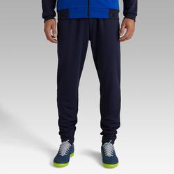 Pantalon football adulte T100 bleu foncé