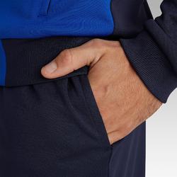 Voetbal trainingsbroek T100 marineblauw