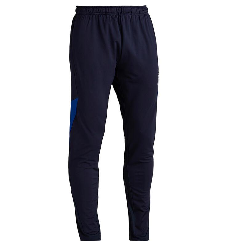 Pantalon Fotbal T500 Albastru Adulți