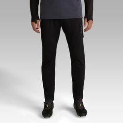 Pantalon de soccer adulte T500 noir carbone