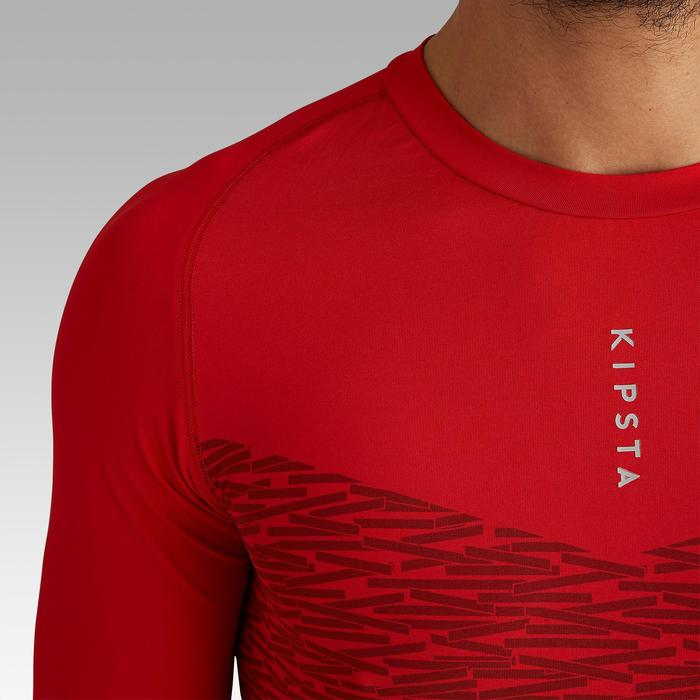 Ondershirt korte mouwen volwassenen Keepdry 100 rood