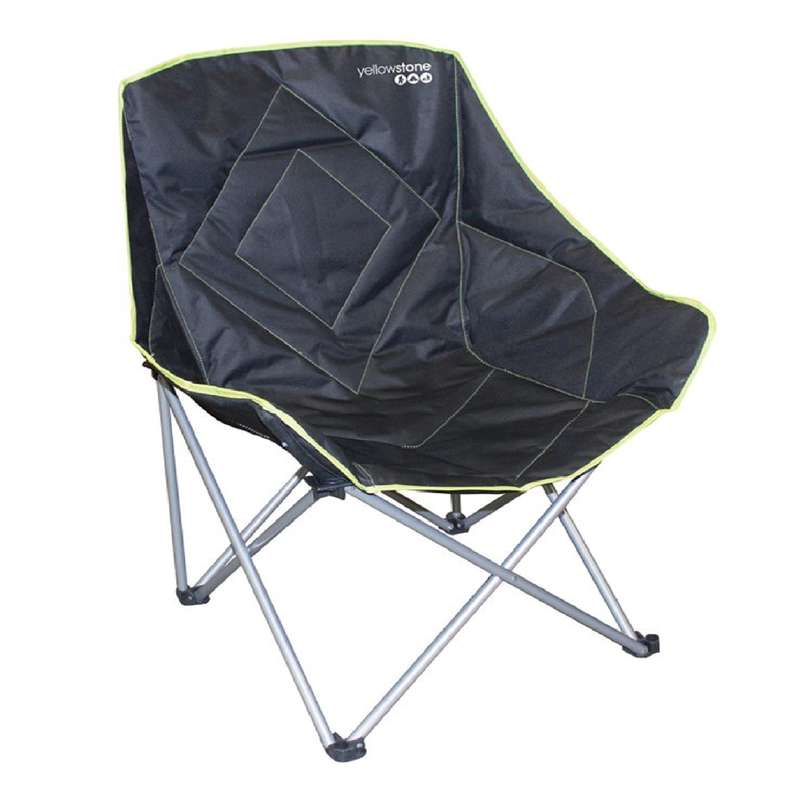 BASE CAMP FURNITURE Camping - Serenity XL Camping Chair YELLOWSTONE - Camping Furniture and Equipment